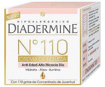 DIADERMINE Crema de día anti-edad nº110 (alta eficacia) de textura sedosa, alisa las arrugas y líneas de expresión 50 ml