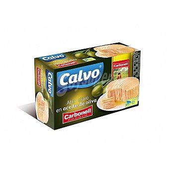 Calvo Atún claro en aceite de oliva carbonell lata 75 gr Lata 75 gr