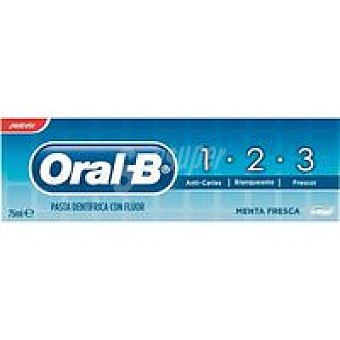 Oral-B Dental 1-2-3 Tubo 75 ml
