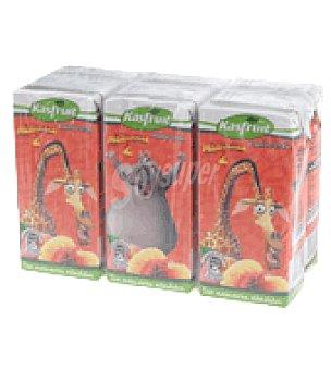 Kasfruit Zumo melocotón uva Pack de 6x20 cl