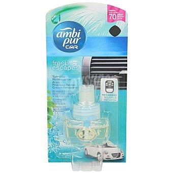 AmbiPur Ambientador Car Aqua frescor natural recambio 1 ud