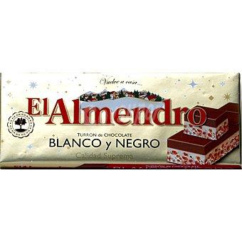 El Almendro Turrón de chocolate blanco y negro estuche 285 g Estuche 285 g