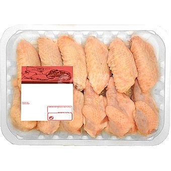 PUJANTE Alas de pollo partidas peso aproximado Bandeja 600 g