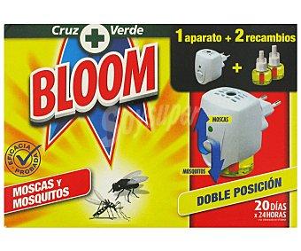 Bloom Insecticida Eléctrico Para Moscas y Mosqutos Insect. Eléctrico 1u+2r