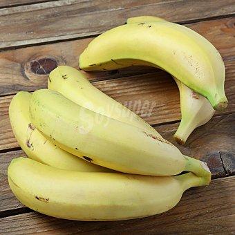 Carrefour Bio Plátano de Canarias ecológicio Carrefour Bio flowpack 1 Kg aprox Bandeja de 1000.0 g. aprox
