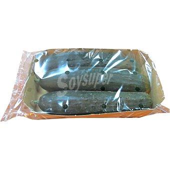 Pepino peso aproximado bandeja 600 g