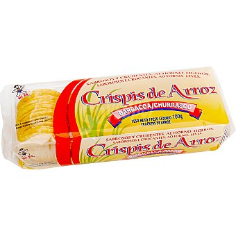 HOT-KID Crispis de Arroz Barbacoa Paquete 100 g