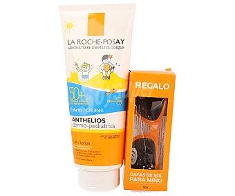 La Roche-Posay Leche solar especial para niños con factor de protección 50 + regalo gafas de sol para niños 1 unidad