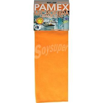 PAMEX Bayeta microfibra colores surtidos Envase 1 unidad
