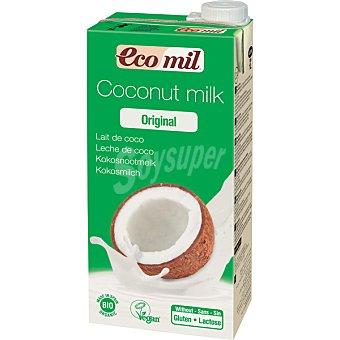 ECOMIL Leche de coco original Bio  Envase de 1 l