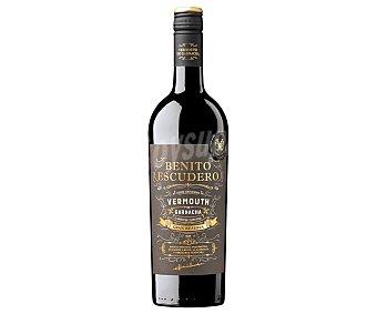Benito Escudero Vermut gran reserva, elaborado con uvas Garnachas Botella de 75 cl