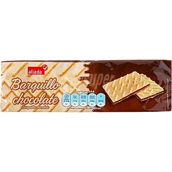 Aliada Galletas de barquillo rellenas de chocolate Paquete de 150 g