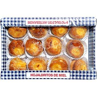 CURRO JIMENEZ Hojaldritos de miel Bandeja 350 g