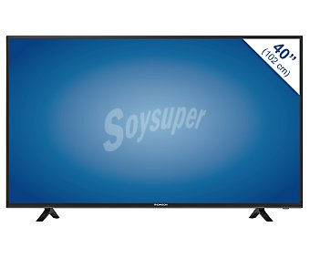 "Thomson 40FB5406 Televisión 40"" LED FULL HD, SMART TV, WIFI, TDT HD, USB reproductor, HDMI, 100HZ, color blanco. Televisor de gran formato"