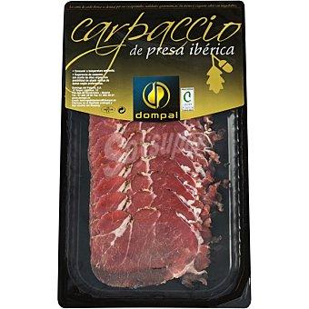 Dompal Carpaccio de presa de cerdo iberico estuche 100 g Estuche 100 g