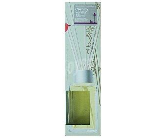 AUCHAN Difusor de varillas con perfume con olor a vainilla que nos ayuda a reducir la tensión y la ansiedad 85 mililitros