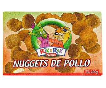 Rik&Rok Auchan Nuggets de Pollo 200g