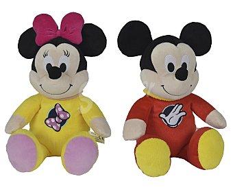 Disney Mickey o Minnie de peluche con pijama, 23 centímetros de alto 1 unidad