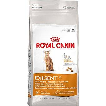 ROYAL CANIN EXIGENT Protein Preference Alimento para gato de apetito exigente y preferencia a los nutrientes bolsa 2 kg Bolsa 2 kg