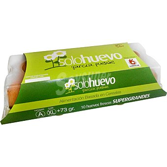Solohuevo Huevos frescos clase XL estuche 10 unidades