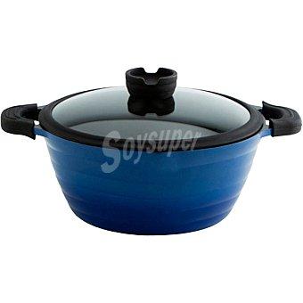 QUID Fierro Blue Cocotte en color azul 28 cm 1 Unidad