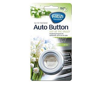 Fresh way Ambientador de coche para rejilla de ventilación con olor a Lirios del valle WAY