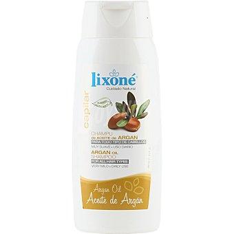 Lixone Champu de Aceite de Argan para todo tipo de cabellos frasco 250 ml Frasco 250 ml