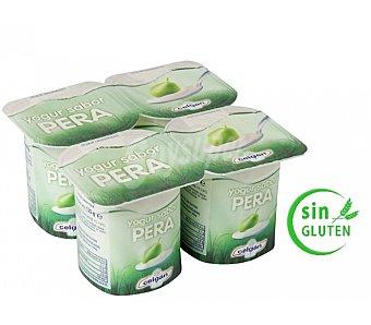 Celgan Yogur sabor Pera 4 Unidades de 125 Gramos