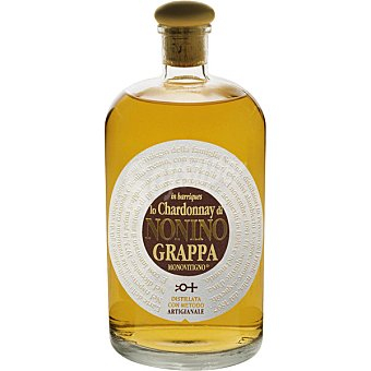 Nonino Grappa aguardiente chardonnay en barrica botella 70 cl botella 70 cl