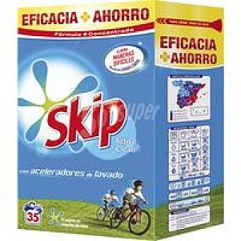 Skip Detergente en polvo Maleta 35 dosis