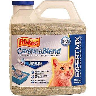 Friskies Purina Arena para gatos con cristales azules de sílice Crystals Blend Envase 3 kg