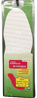 Comfor Fresh Plantilla deporte grande 22/46 2 unidades