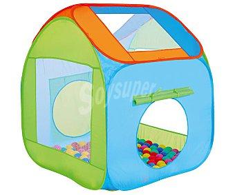 ONE TWO FUN ALCAMPO Casa con 100 bolas de colores Baby