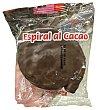 Surtido granel espiral chocolate 1 unidad (60 g peso aprox.) Hacendado