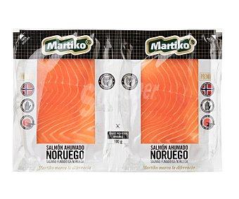 Martiko Salmón ahumado noruego Pack 2 paquetes x 50 g