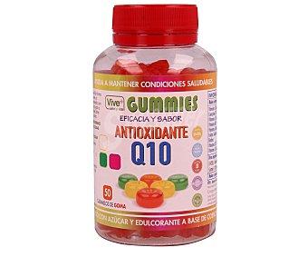 Vive+ Complemento alimenticio en forma de caramelo de goma a base de coenzima Q10 y vitaminas 50 unidades