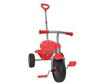 KAME Mi primer triciclo, triciclo evolutivo con asidero color rojo 1 unidad