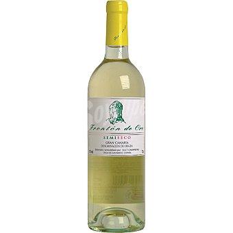 FRONTON DE ORO Vino blanco semi-seco D.O. Gran Canaria  botella 75 cl