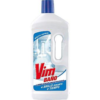 Vim Limpiador de baños efecto antical Botella 1,5 l