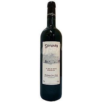 Sonpuig Vino tinto 10 meses en barrica de la Tierra de Mallorca botella 75 cl Botella 75 cl
