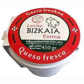 Bizkaia Esnea Queso fresco Tarrina 450 g
