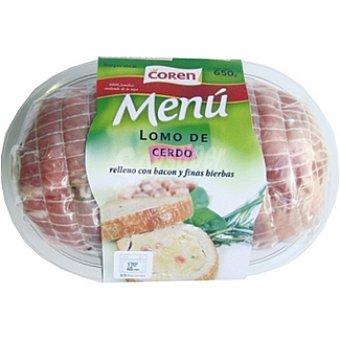 Coren Lomo de cerdo relleno con bacon a las finas hierbas Bandeja 650 g