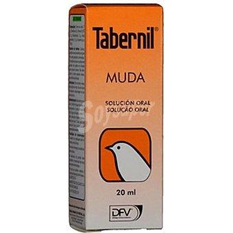 Tabernil muda Complemento vitamínico para la caída de plumas en canarios y aves Envase 20 ml