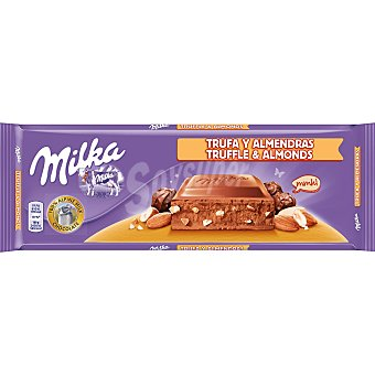 Milka Chocolate relleno de trufa-almendra Tableta 300 g