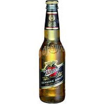 MILLER Cerveza Botellín 33 cl