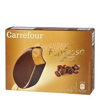 Carrefour Helado chocolate y café 4 ud