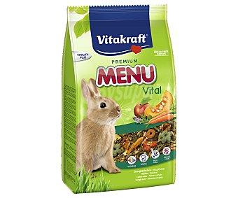 Vitakraft Alimento para Conejos enanos Menú Vital 3 kg