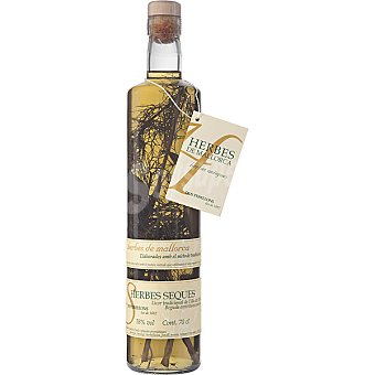 Dos Perellons Licor de hierbas secas Botella 75 cl