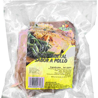 VEGESAN filete vegetal sabor pollo envase 500 g 3 unidades