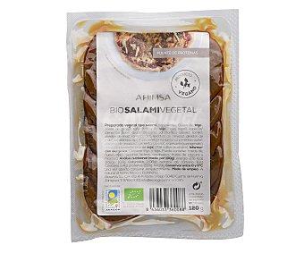 Ahimsa Preparado vegetal de salami 120 gramos